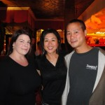 Left to right:  Julie Fogg, Jenn Lim & Zappos CEO Tony Hsieh